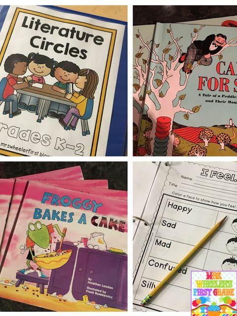 Literature Circles in 1st Grade