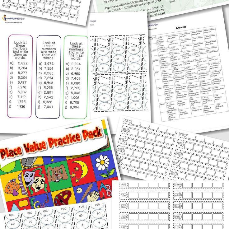 153 best MATH: PLACE VALUE images on Pinterest | Math activities ...