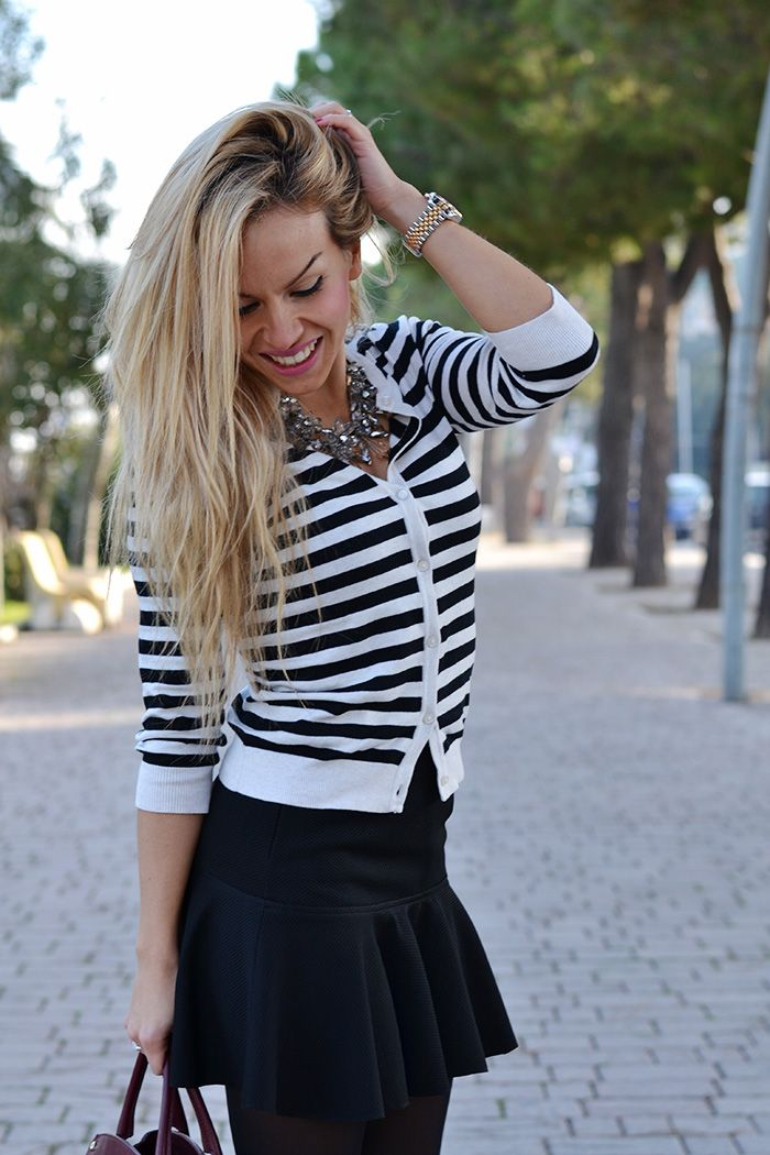 Stripes are always a good idea