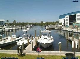 Four Winds Marina Live Webcam, Bokeelia, Florida.