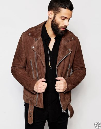Suede is the new leather #brown #suedejacket #custommade #spring #ootd #menswear