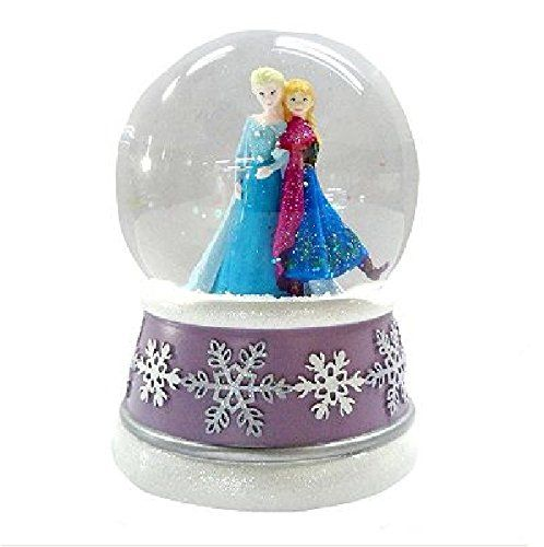 Disney Snowglobes and Water Globe Collectibles - Anna and Elsa from Frozen