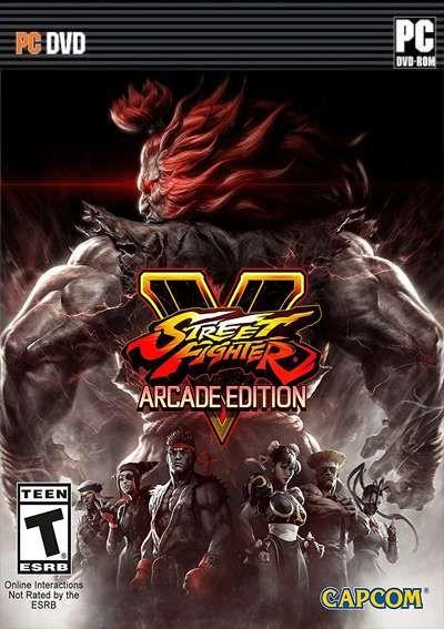 Street Fighter V Arcade Edition Mega Videojuegos De Lucha
