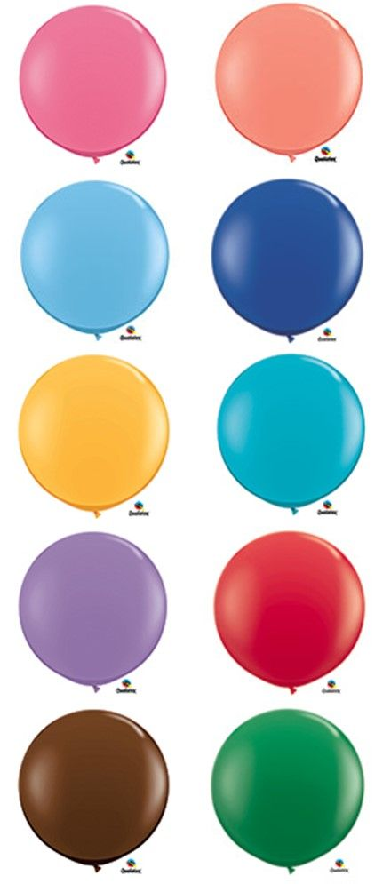 Pantone's Spring 2016 Colors have been announced and we have picked out our favorite 3 Foot Latex Balloons to celebrate! @Qualatex
