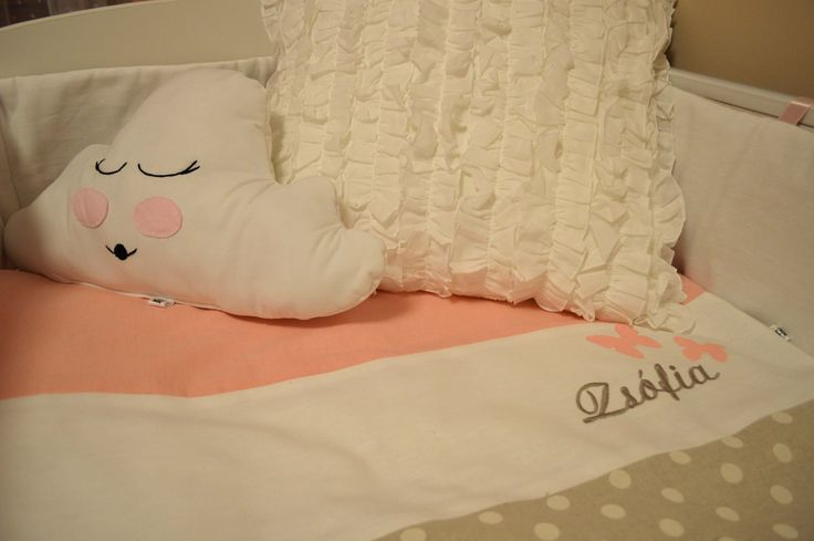 Felhő Párna  Kiságy szett Baby bedding set Cloud pillow