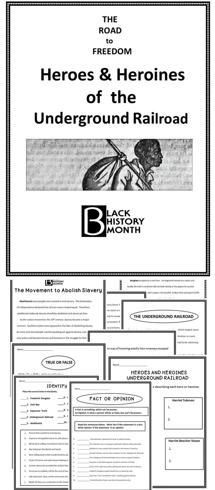 Coloring pages for underground railroad - The Underground Railroad