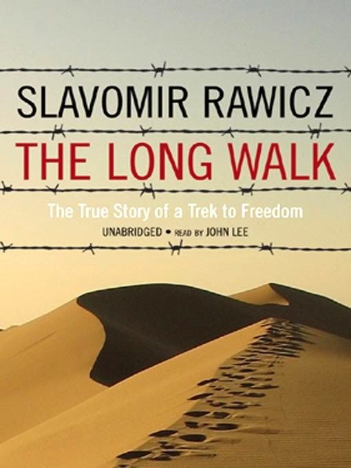 an unbelievably true story of how slawomir rawicz - a polish army lieutenant - and six other people escaped from a siberian gulag (imprisoned by the soviets) and walked over 4K miles through the gobi desert, tibet and the himalayas to reach british india in 1942.