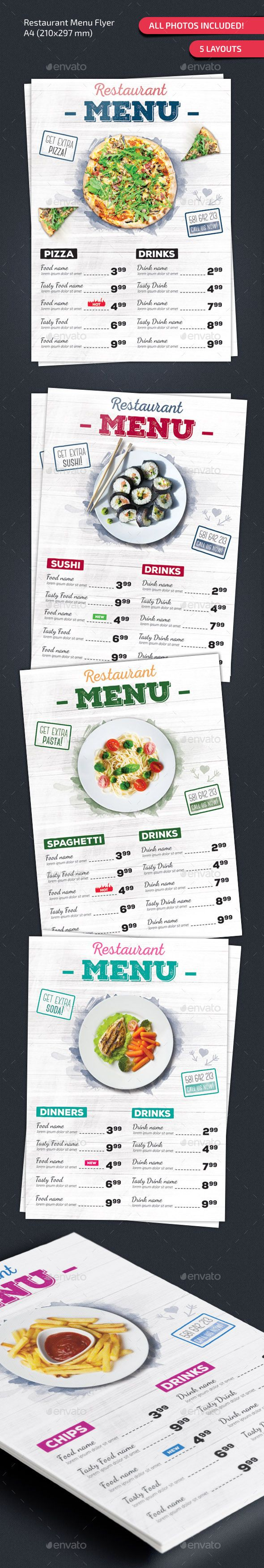 Restaurant Menu Design Tempalte Download: http://graphicriver.net/item/restaurant-menu/12943428?ref=ksioks