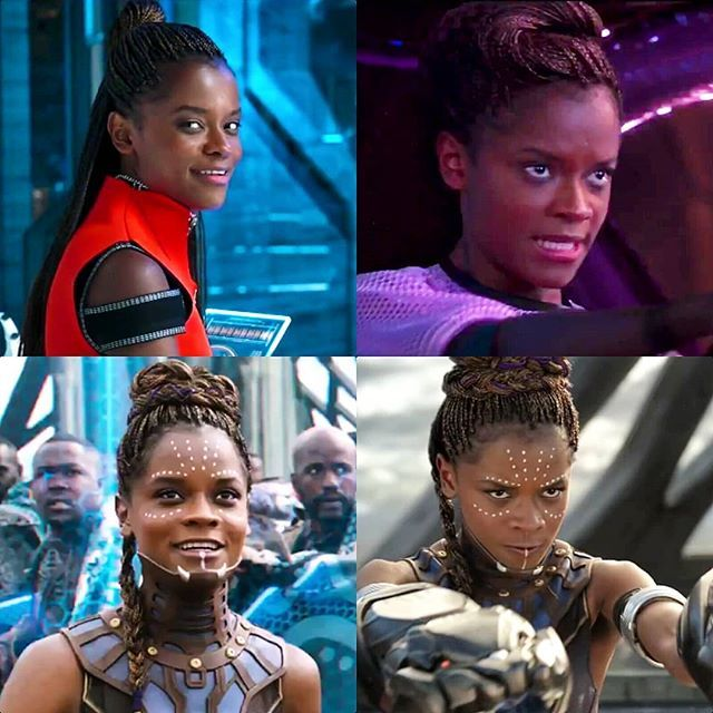 Shuri is a hero and a genius and gorgeous and so badass I'm obsessed with Black Panther.