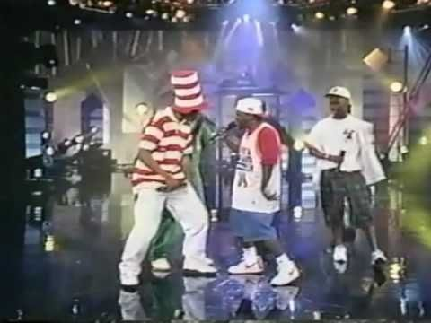 Tribe called Quest & Leaders of the New School on Arsenio Hall.  I like new hiphop, but you can't mess with this!