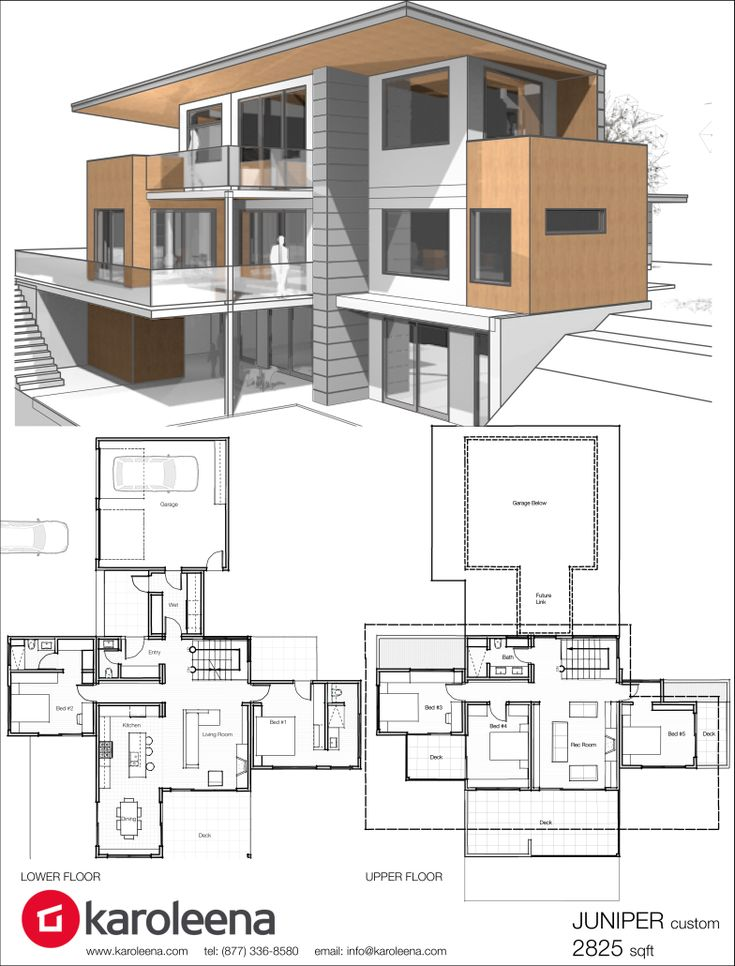 Best 25 modern home design ideas on pinterest modern house design house design and modern - Luxery home plans gallery ...