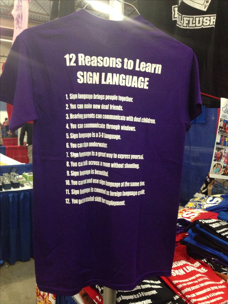 12 Reasons to learn ASL American Sign Language - Deaf Expo in Pleasanton, Ca