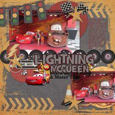 SS 169 Lightning McQueen & Mater Too