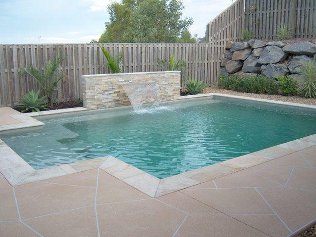 Rectangular Inground Pool Designs simple inground pool designs | pool design & pool ideas