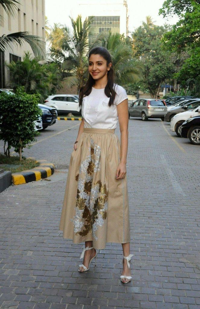 "Anushka Sharma At Film ""Phillauri"" Promotion At JW Marriott, Mumbai"