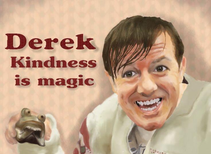 Derek Ricky Gervais Digital Art