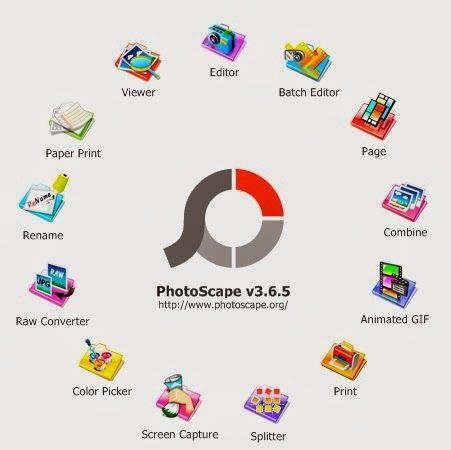Free Download Photoscape 3.6.3 Terbaru 2013 - Photoscape new update - Photoscape adalah sebuah program Editor gambar untuk mengedit foto dengan mudah serta cepat