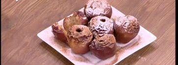 Ψητά μήλα με μέλι και ταχίνι