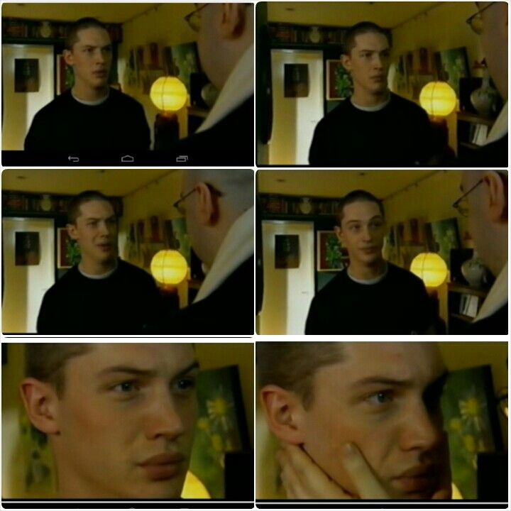 A young Tom Hardy in a weird video from 2002
