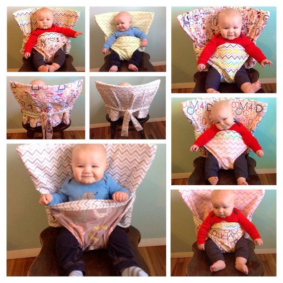 The Portable Anywhere Highchair - Custom - Reversible Fabric High Chair