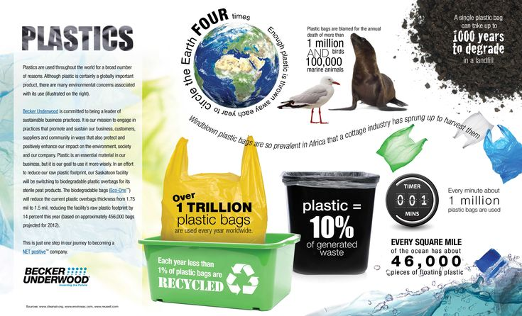 INFOGRAPHIC : Environmental Concerns Over Plastic