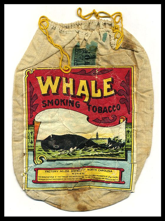 Whale Smoking Tobacco pouch