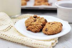 Тыквенное овсяное печенье с изюмом