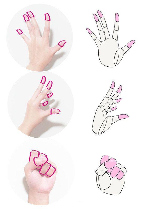 初心者の「なぜか上手く描けない」を解決!手の描き方テクニック編|イラストの描き方  指のアタリ    How to draw hands| Illustration Tutorial  The fingers