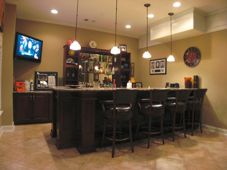 custom basement bar bars and wet bars pinterest