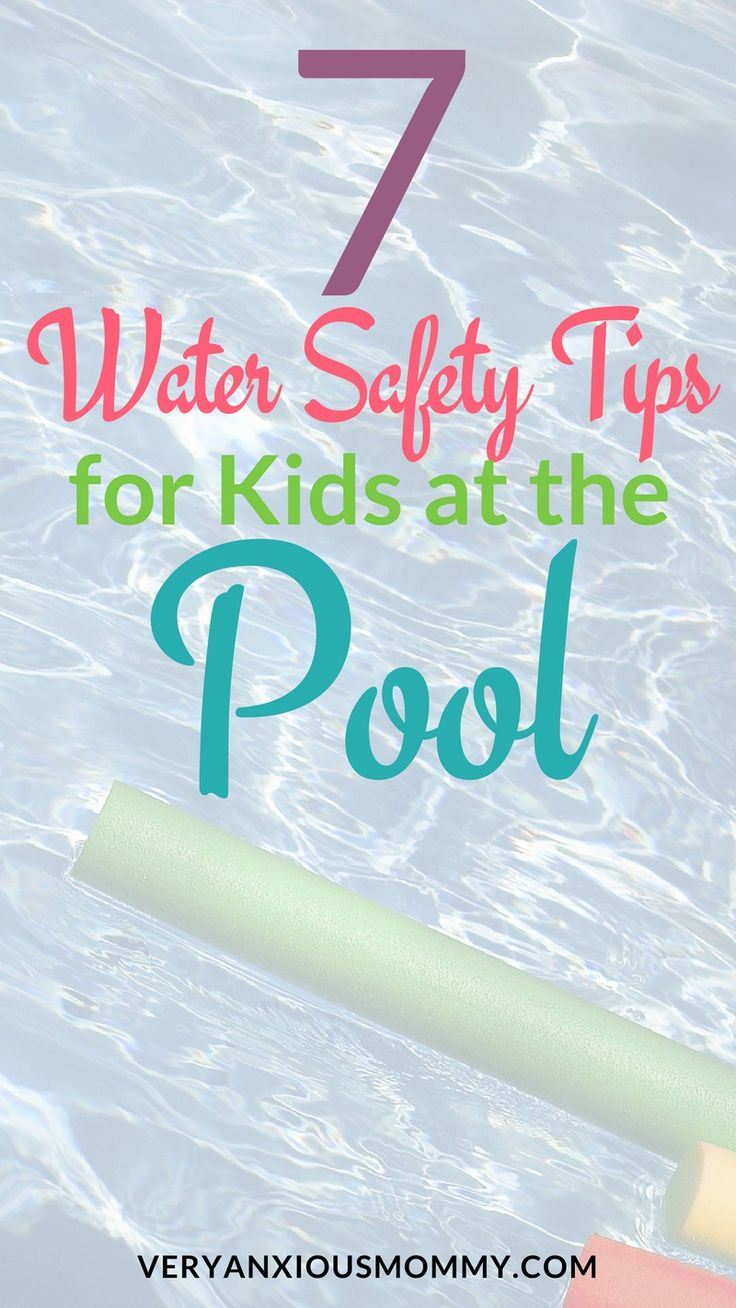 baby and toddler swimming teaching safety guidelines