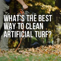 how to keep artificial turf clean