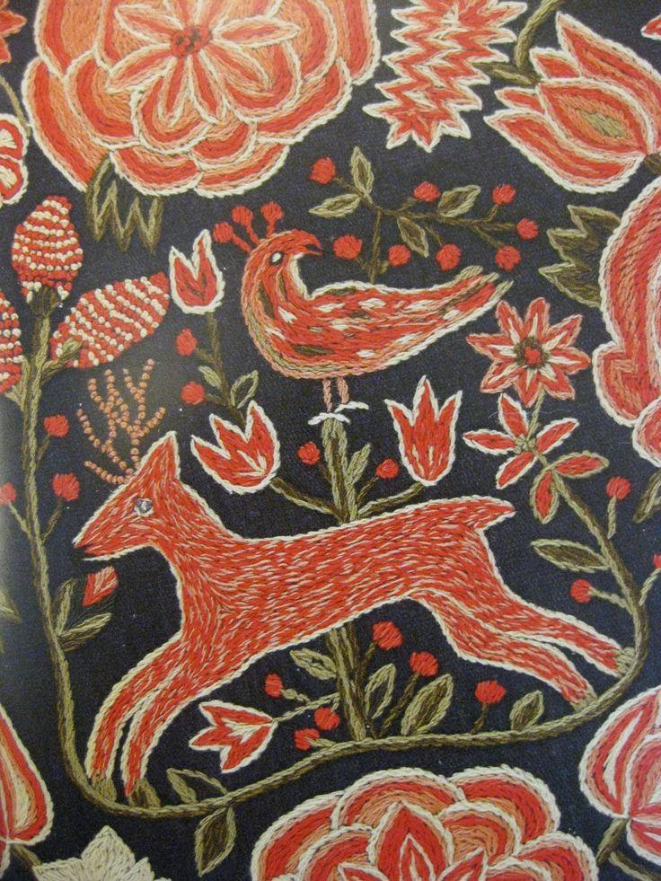 ♒ Enchanting Embroidery ♒ embroidered by Svensk Hemslöjd