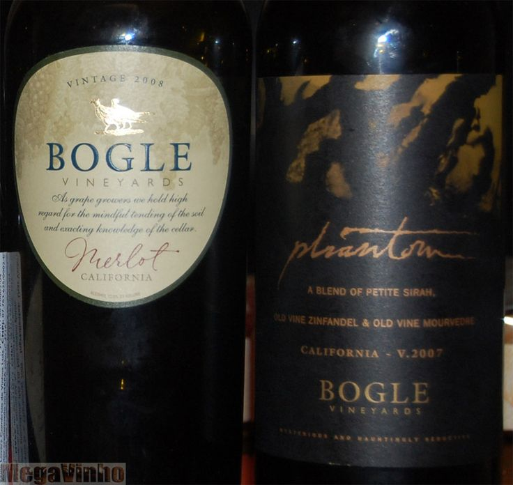 Bogle wines - very good wine and reasonably priced!