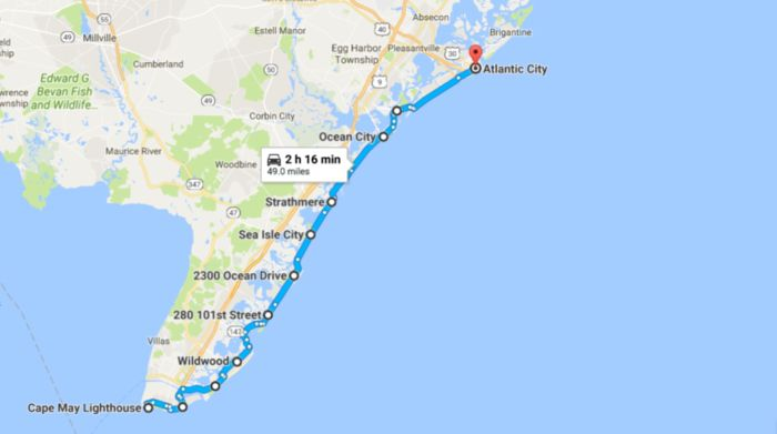 This 49-Mile Drive Is the Best Way to See New Jersey's Stunning Coast