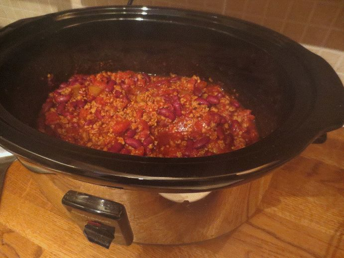 Me add three: Easiest slow cooker Quorn chilli ever