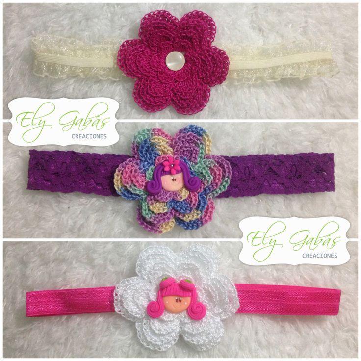 66 best mis creaciones en crochet images on pinterest - Aplicaciones en crochet ...