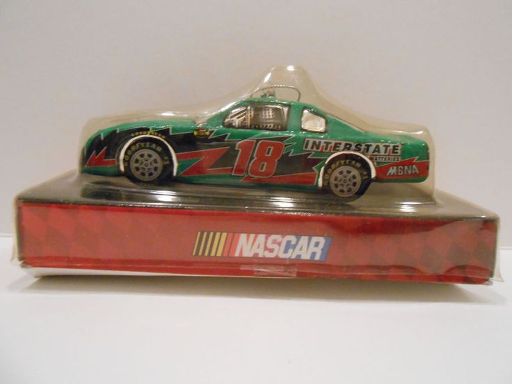 Nascar 2004 Bobbie Labonte #18 Race Car Glass Christmas Ornament Interstate #Interstate #Lowes