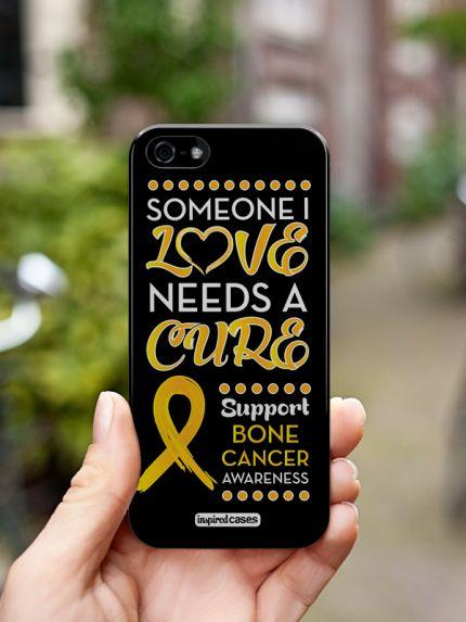 Inspired Cases Someone I Love - Bone Cancer Awareness Case http://www.inspiredcases.com/  #bonecancer