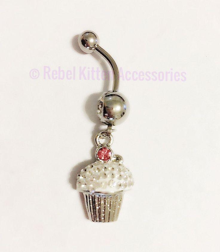 Sparkle Boho Cupcake  Dangle Belly Button Ring Piercing Body Jewelry Barbell | Jewelry & Watches, Fashion Jewelry, Body Jewelry | eBay!
