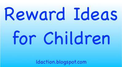 Reward Ideas for Children