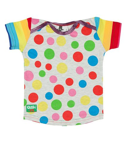 As seen in Offspring | Oishi-m, Baby, Toddler, Kids, Children's Clothing, Girls, Fairybread Shortsleeve T Shirt http://www.oishi-m.com/collections/all/products/fairybread-shortsleeve-t-shirt