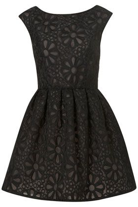 Cute & Lovely for a Party Dress :) a LBD EMBROIDERED DRESS
