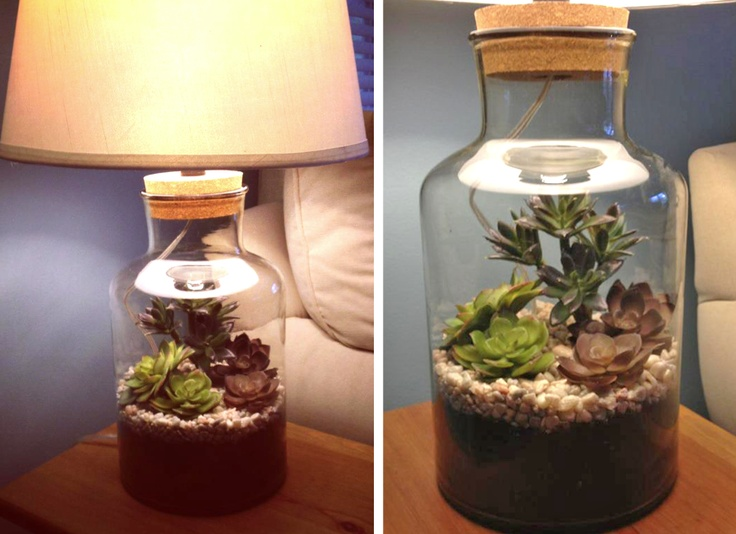 I think I'll make these will the lamps I have!