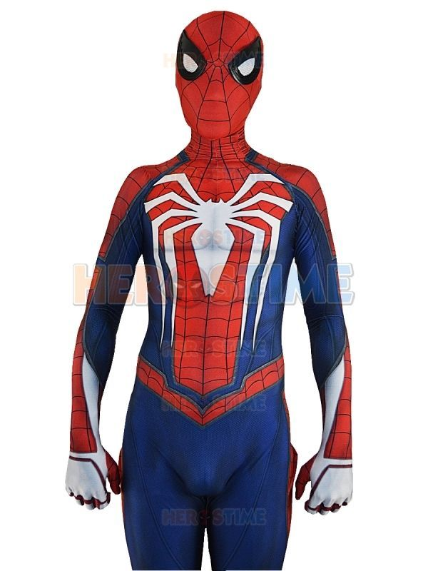 Insomniac Spider-man Costume PS4 Game Spiderman Costume for Halloween Cosplay   eBay