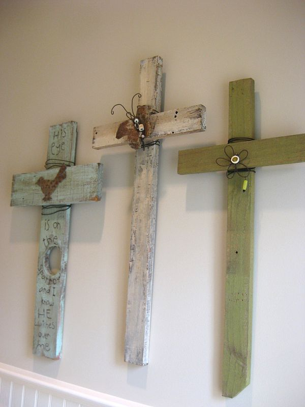 from leftover pallet wood and add some barbwire.