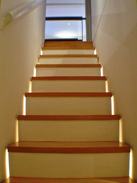 Commercial Basement Stair Lighting: 17 Best Ideas About Stairway Lighting On Pinterest