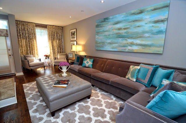 25 ideias de decoração com um toque de azul!!!