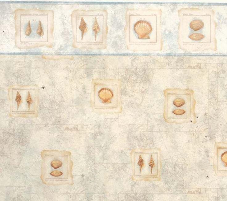 shell nautical wallpaper
