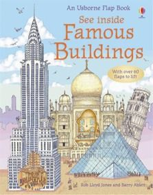 Great book to teach engineering AND about the world...See inside famous buildings!