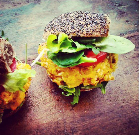 The Green Happiness | Sweet Potato Burger